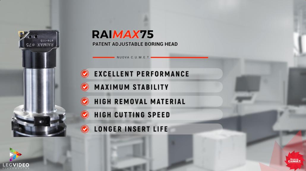 Legvideo Video Tecnico Nuova Cumet Raimax75